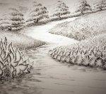 رسم باليد صور روعة للوحات فنيه مرسومه باليد 2015