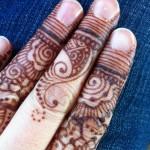 اجمل وارق النقوش على الأصابع فقط ناعم مرة وتحفة