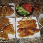 فطائر الجبن والزعتر بالصور فطائر رمضانيه شهيه بالصور عجينة فطائر هشه