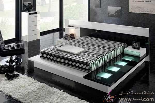 d5708 مجموعه صور  من ديكورات غرف النوم ديكورات غرف النوم المتميزه والرائعه2014