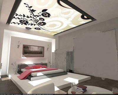 ديكورات جبس غرف نوم وافكار رائعة في تصميم الاسقف والجدران مجلة لمسة