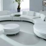 أريكة وكنب جلد أبيض المنتجات على 2014Houzz