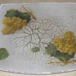 عمل لوحة فنية من الزجاج طريقة الرسم على الزجاج2014