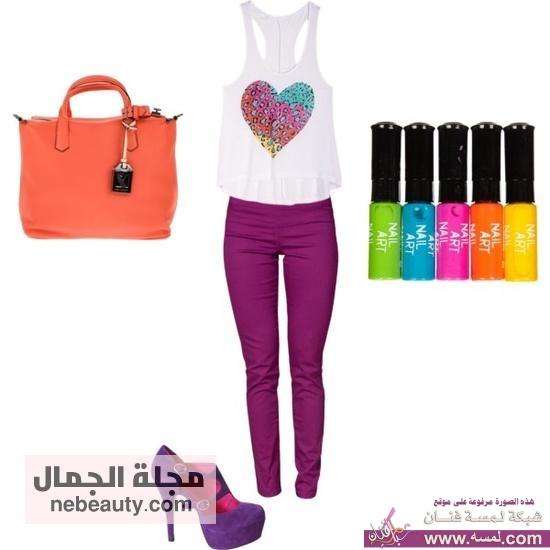 f415123044d75359769d3ba7a8c0f106 كولكشين ملابس صيفيه أنيقه بألوان رائعة  أنيقه وعصريه 2014