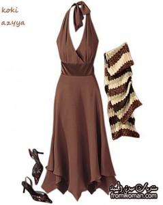 fromwoman13492064062 239x300  ملابس موضة للبنات ـ أزياء لصبايا باللون البني
