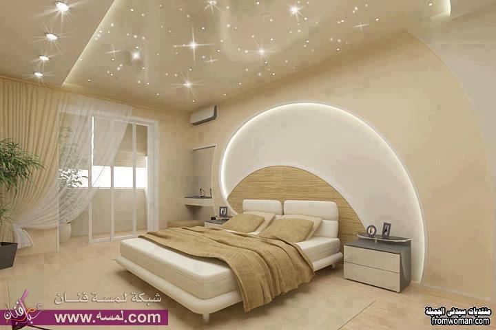 جبس غرف نوم عصري يأخذ العقل Gypsum Bedroom Modern Takes The Mind