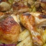 اكلات رئيسية فى رمضان وصفة عمل بطاطس بالليمون 2014