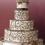 كعكات زفاف روعة ذات الشكل الجميل و المذاق اللذيذ