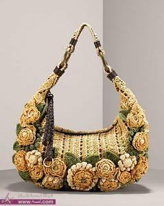 7238f71890f8d شنط كروشيه رقيقة 2014 حقائب كروشية شيك للخروج Crochet bags – مجلة ...