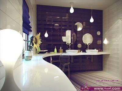 img 1387528330 284  ديكورات حمامات بسيطة ملونة حمامات مودرن 2015
