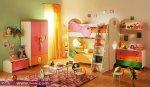 غرف نوم أطفال جميلة الألوان وجذابة مريحة للأطفال 2014