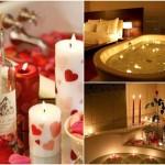 غرف نوم رومانسية وحمامات للعروسين 2014 ناعمة وجذابة تجنن 2015