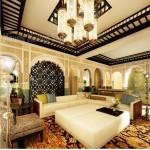 ديكور مجالس عربية على الطراز الإسلامي  تضيف ملامح الفخامة على ديكورات منزلك
