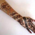 new henna mehndi design 2013 4 pclayer 150x150 اجمل نقش للعروس مرة روعه 2014