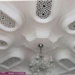 صور ديكورات جبس للاسقف 2015 – نقش جبس مغربي 2014