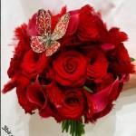 اجمل صور باقات الورد الرومانسيه 2015 , صور ورود حمراء رومانسيه عاليه الدقه   2015