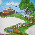 ديكورات غرف الأطفال والرسم على الجدرانDecorated children's rooms 2014
