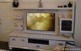 tv Üniteleri1 صور جبس وورق حائط 2015واضاءة خفية روعه قمة الرومانسية 2014