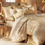 مفارش سرير جديدة للعرسان2014